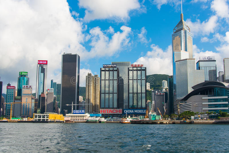 Vista de Hong-Kong imagen de archivo