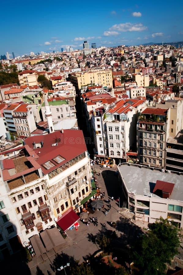 Vista de Istambul imagem de stock royalty free