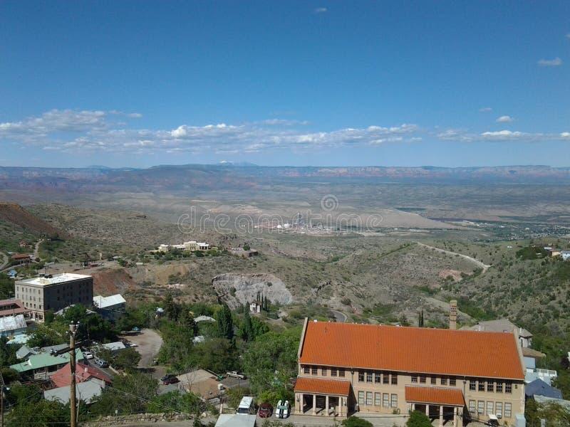 Vista de Jerome Grand Hotel foto de stock royalty free