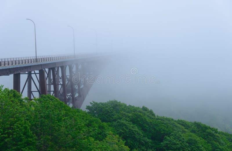 Vista de Jogakura en Aomori, Japón imágenes de archivo libres de regalías