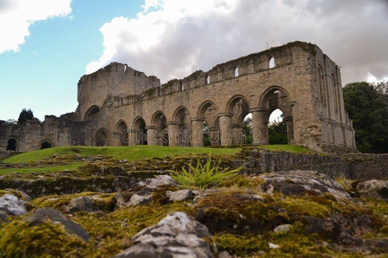 Vista de la abadía de Buildwas - Shropshire fotografía de archivo