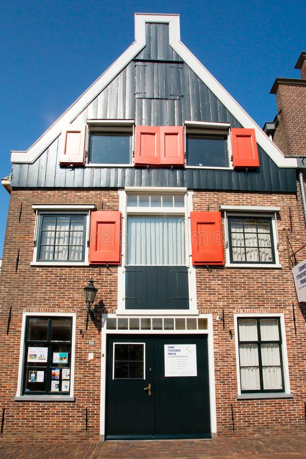 Vista de la arquitectura de Edam Netherlands foto de archivo libre de regalías