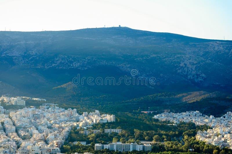 Vista de la Atica, Grecia imágenes de archivo libres de regalías