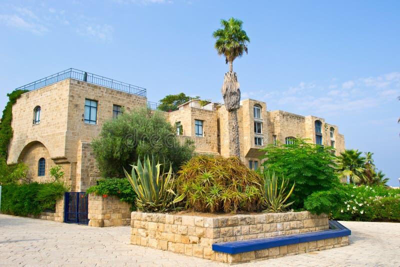 Vista de la casa vieja en Jaffa fotos de archivo libres de regalías
