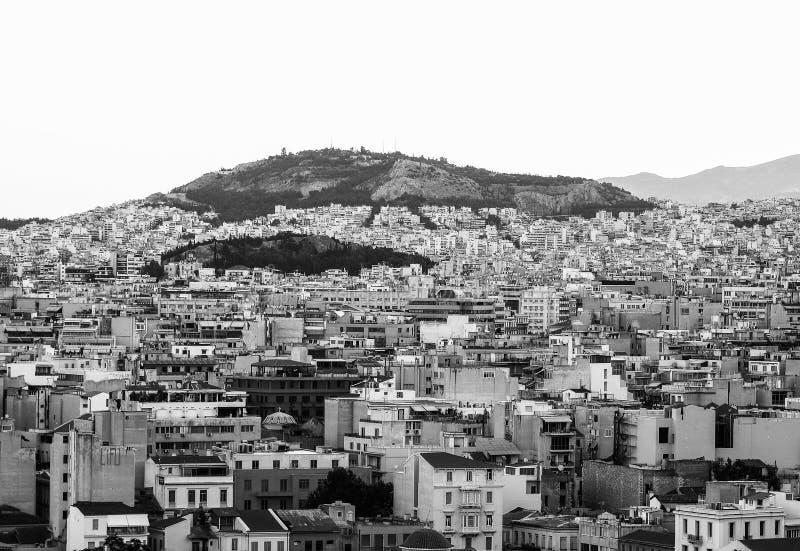 Vista de la ciudad fotografía de archivo libre de regalías