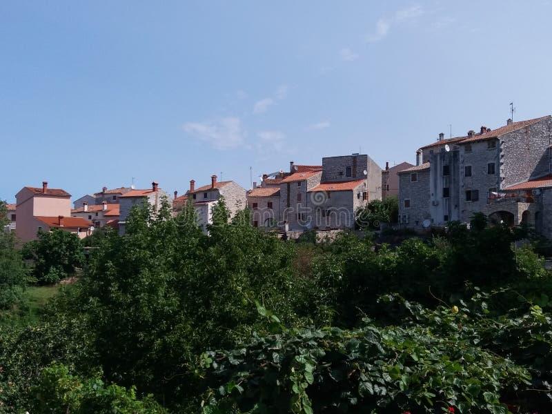 Vista de la ciudad de la bala foto de archivo