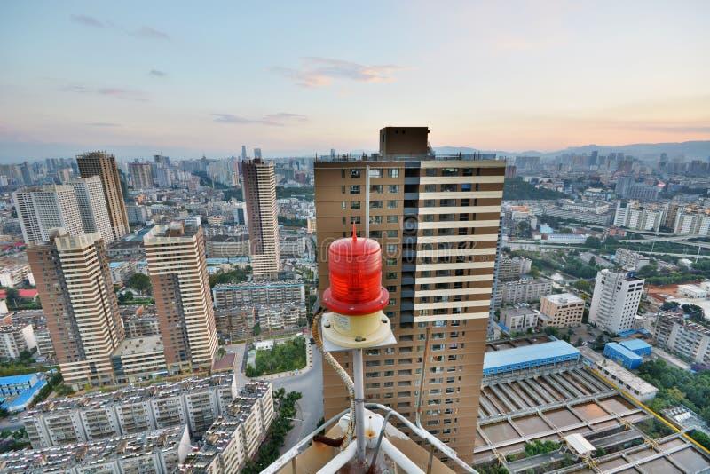 Vista de la ciudad de Kunming imagen de archivo