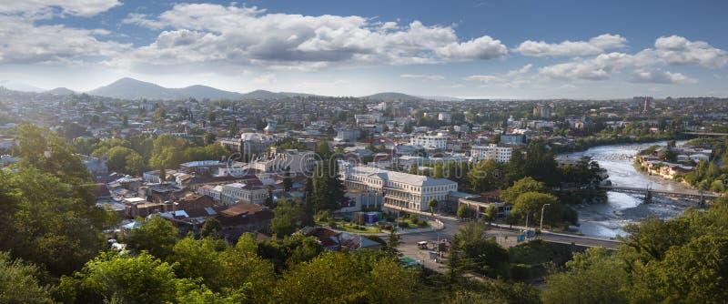 Vista de la ciudad de Kutaisi en Georgia imagen de archivo