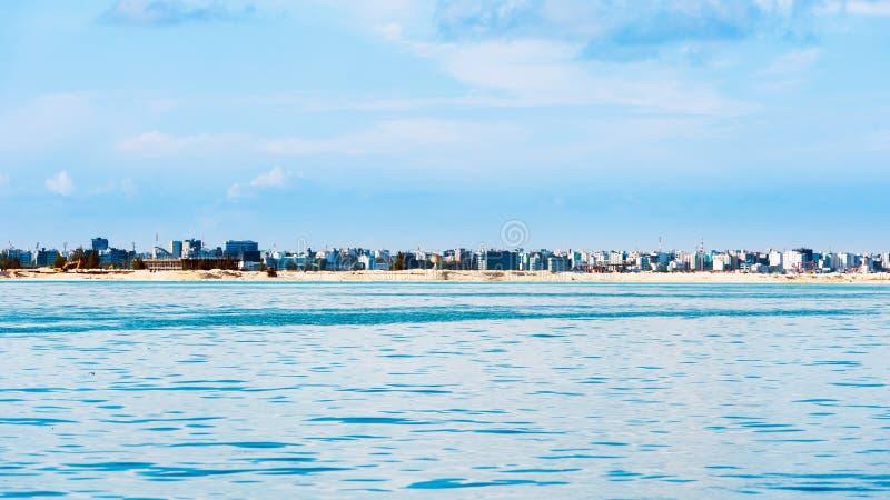 Vista de la ciudad del varón imágenes de archivo libres de regalías