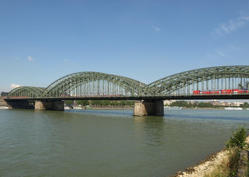 Vista de la ciudad de Koeln imagen de archivo libre de regalías