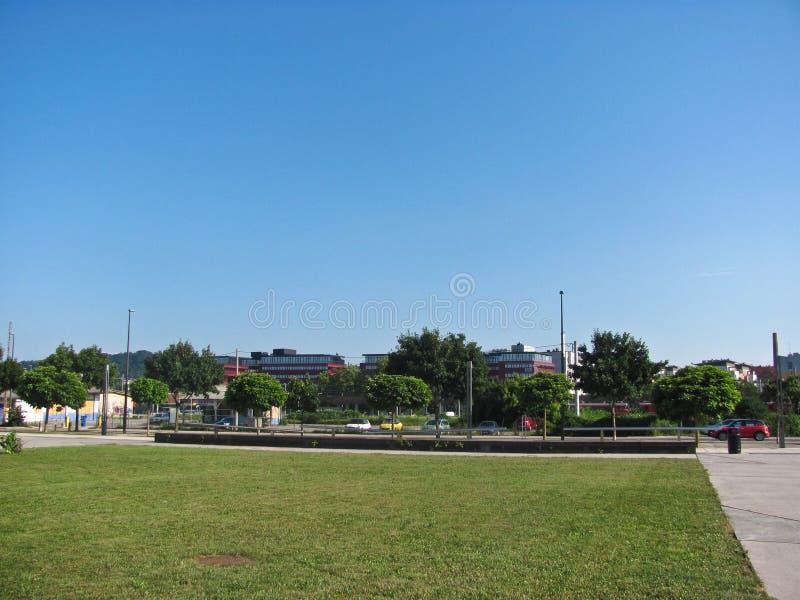 Vista de la ciudad, Ljubljana, Eslovenia fotografía de archivo