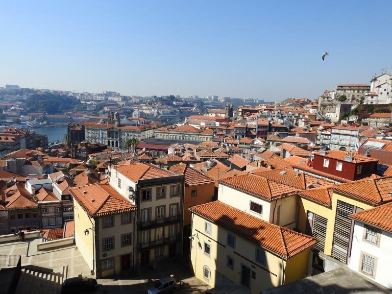 Vista de la ciudad de Oporto portugal fotos de archivo libres de regalías