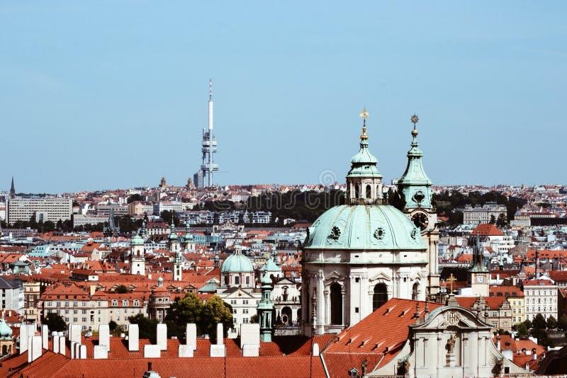 Vista de la ciudad de Praga imágenes de archivo libres de regalías