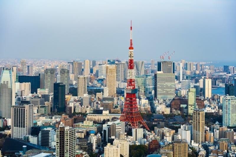 Vista de la ciudad de Tokio, Jap?n imagenes de archivo