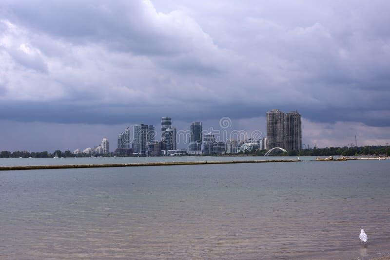 Vista de la ciudad de Toronto fotos de archivo libres de regalías