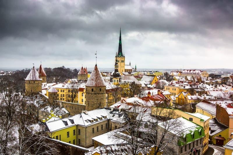 Vista de la ciudad vieja imágenes de archivo libres de regalías