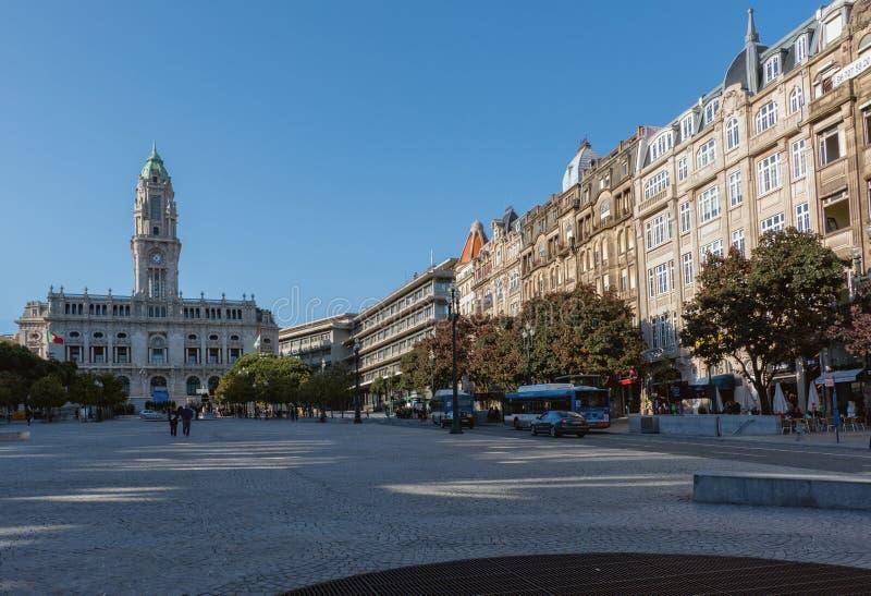 Vista de la ciudad vieja de Oporto, Portugal, 23 puede 2014, ciudad Oporto o fotografía de archivo