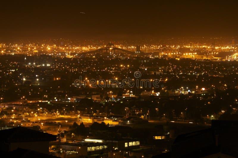 Vista de la colina de la señal fotos de archivo libres de regalías