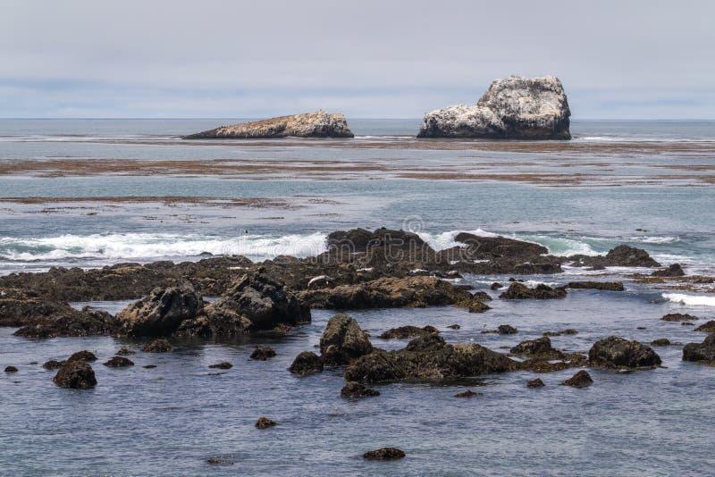 Vista de la costa de California imágenes de archivo libres de regalías