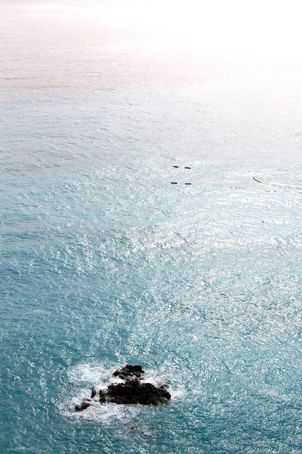 Vista de la costa costa fotos de archivo