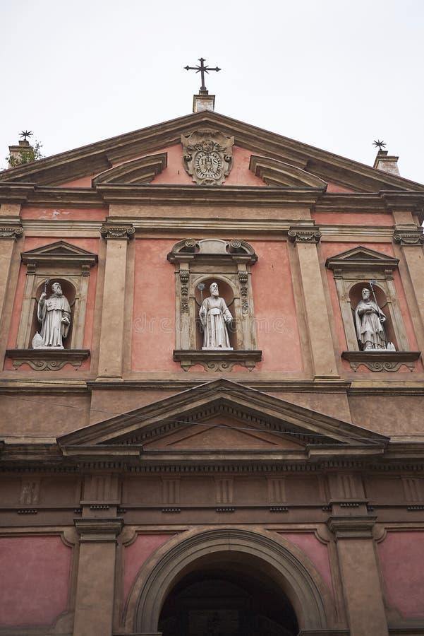 Vista de la iglesia de San Benedetto imágenes de archivo libres de regalías