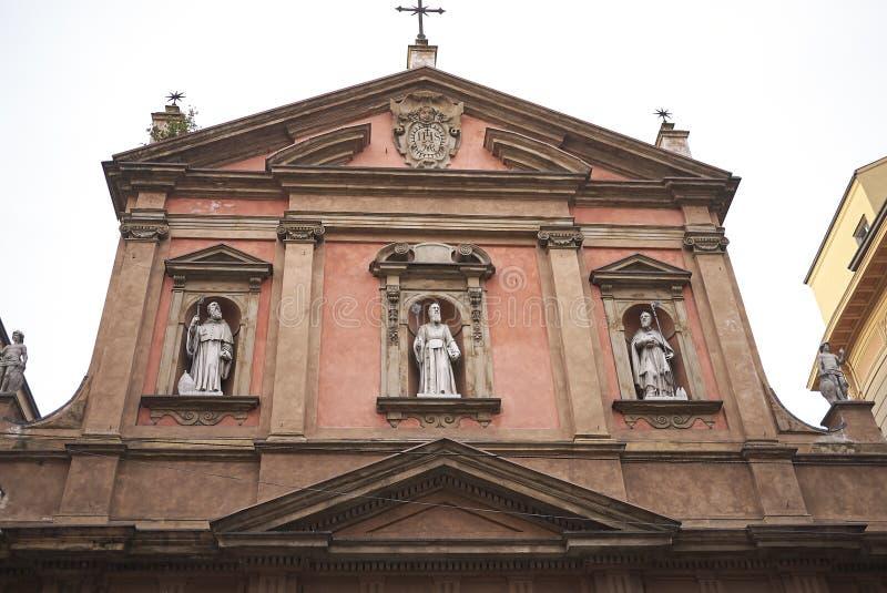 Vista de la iglesia de San Benedetto foto de archivo libre de regalías