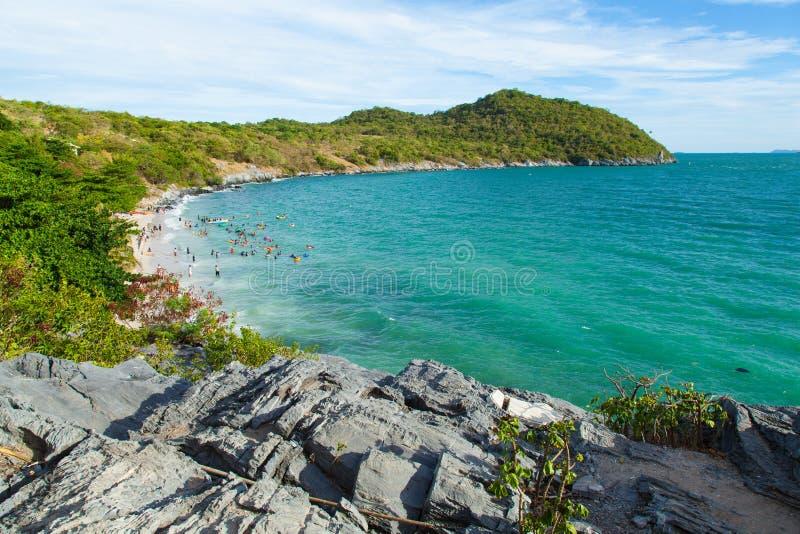 Vista de la isla. imagen de archivo libre de regalías
