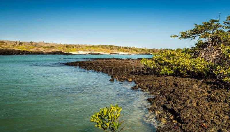 Vista de las Islas Galápagos fotografía de archivo libre de regalías
