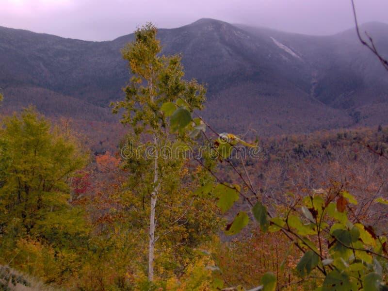 Vista de las montañas blancas NH LOS E.E.U.U. foto de archivo libre de regalías