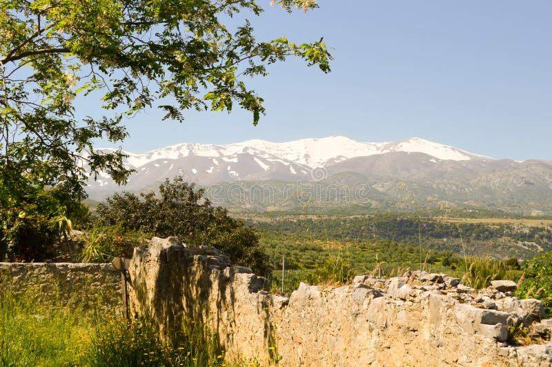 Vista de las montañas del soporte Ida fotografía de archivo libre de regalías