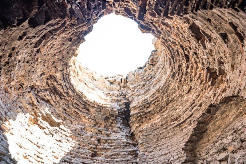 Vista de las paredes históricas en la región de Sur, Diyarbakir, Turquía fotografía de archivo libre de regalías