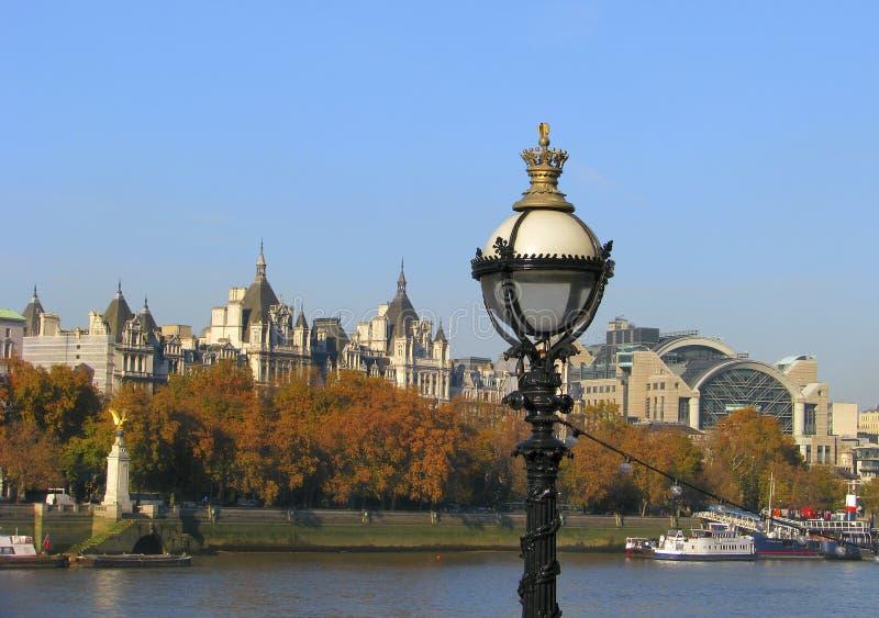 Vista de Londres en otoño fotografía de archivo libre de regalías