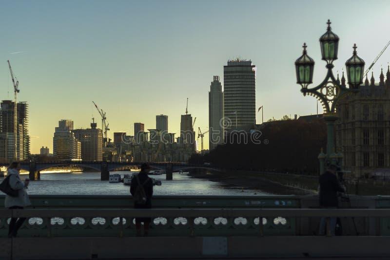 Vista de Londres imagens de stock royalty free