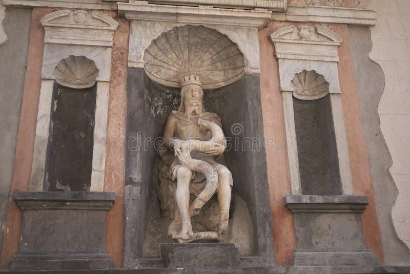 Vista de los di Palermo de Genio foto de archivo