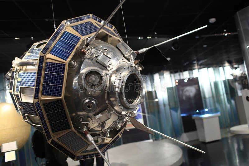 Vista de Luna 3 imagen de archivo