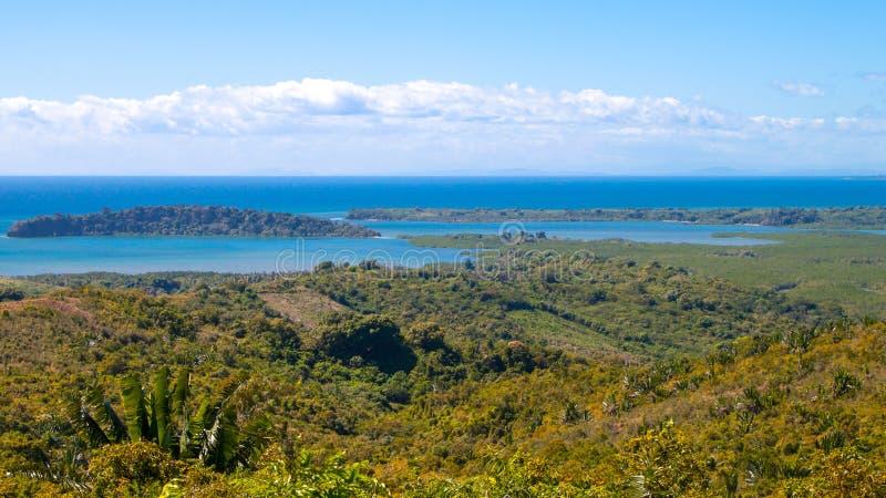 Vista de Madagascar imágenes de archivo libres de regalías
