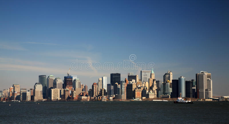 Vista de Manhattan imagens de stock royalty free
