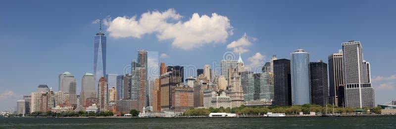 Vista de Manhattan imagem de stock royalty free