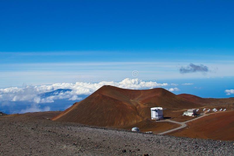 Vista de Mauna Kea na ilha grande imagem de stock royalty free