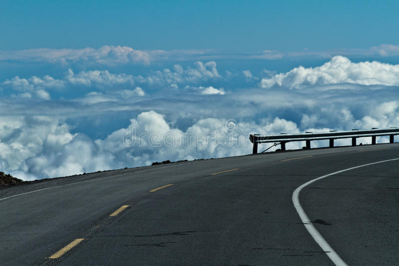 Vista de Mauna Kea na ilha grande fotos de stock royalty free
