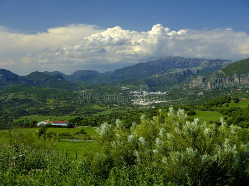 A vista de Mirador Mojan de la Vibora, Espanha fotografia de stock royalty free