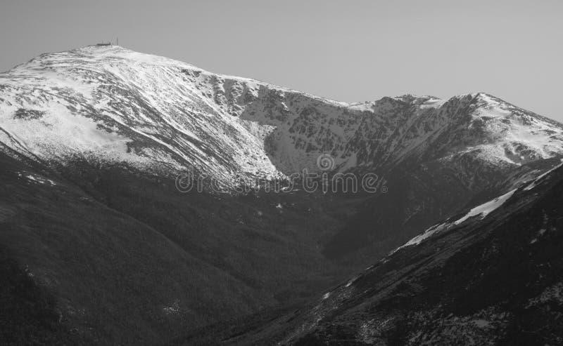 Vista de Mt. Washington foto de stock