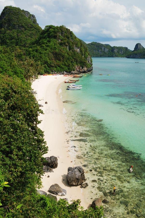 Vista de MU Ko Angthong Island.#8 imagens de stock