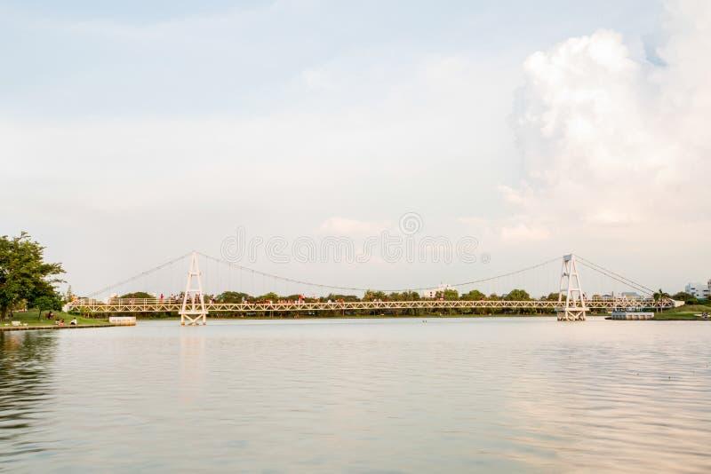Vista de Nakornsawan Tailândia, Nhongsombun fotografia de stock royalty free