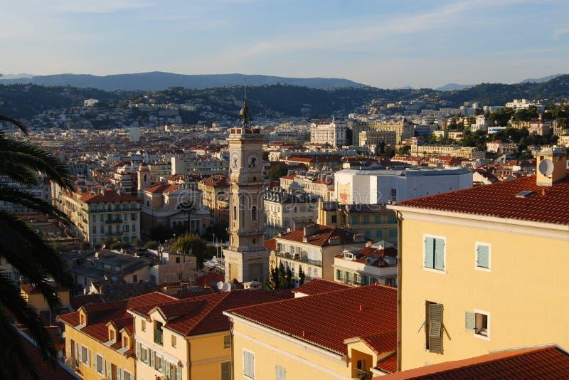 Vista de Niza, Francia imagen de archivo libre de regalías