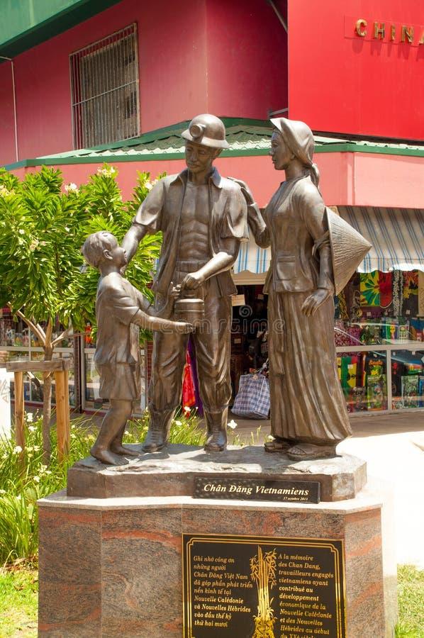 Vista de Noumea, Nueva Caledonia foto de archivo libre de regalías