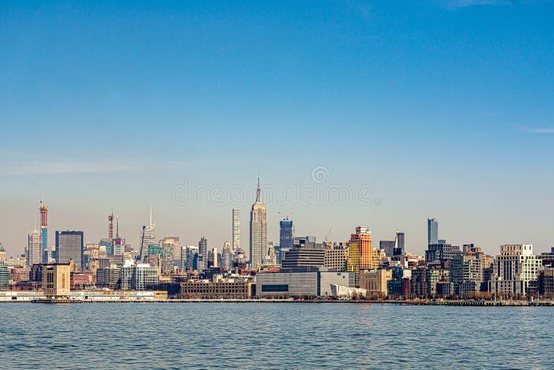 Vista de NYC fotografía de archivo