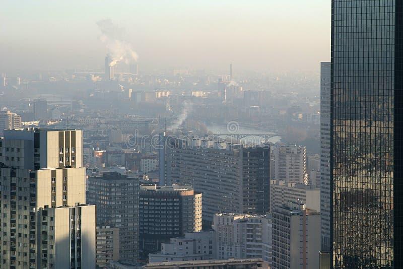 Vista de París fotografía de archivo libre de regalías