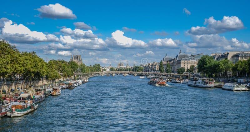 Vista de París imágenes de archivo libres de regalías