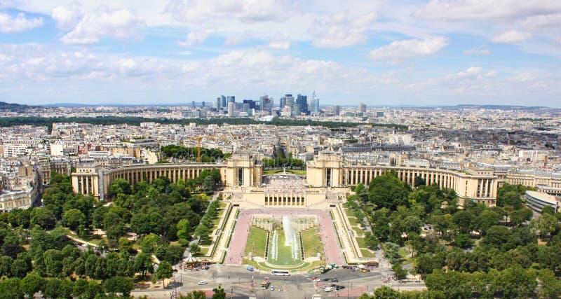 Vista de París foto de archivo libre de regalías